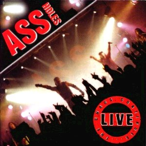 ASSHOLES - LIVE  CD Cover